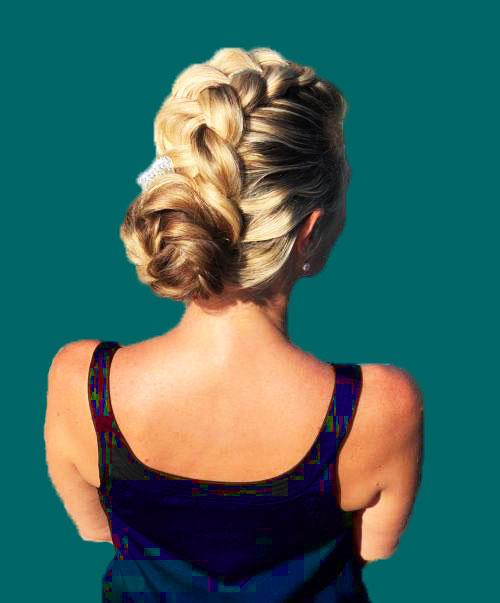 fishtail-bun-style