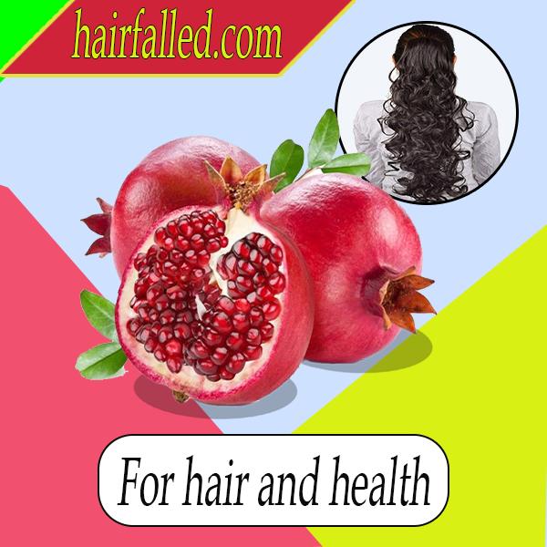 Pomegranates for hair